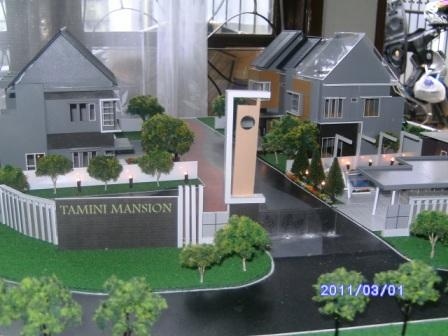 MAKET RUMAH TAMINI MANSION