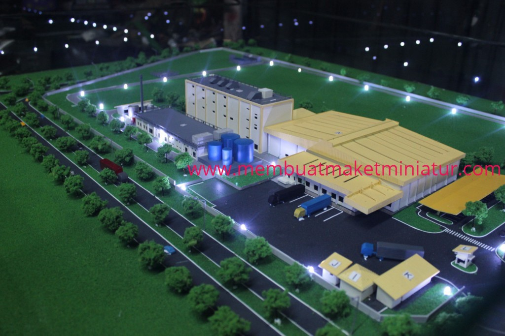 MAKET FACTORY PT.TEBODIN INDONESIA